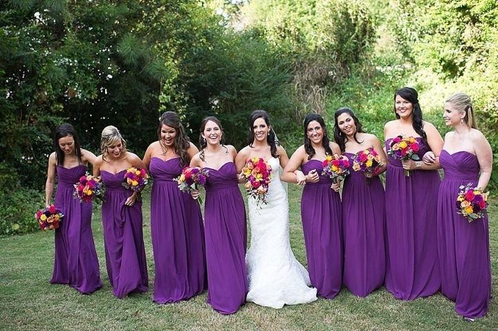 lilac bridesmaid and groom - 720×479