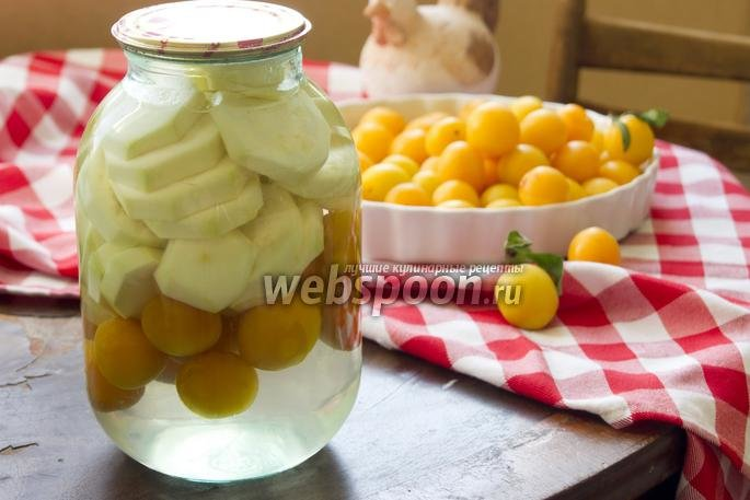 Кабачок как ананас рецепт с фото
