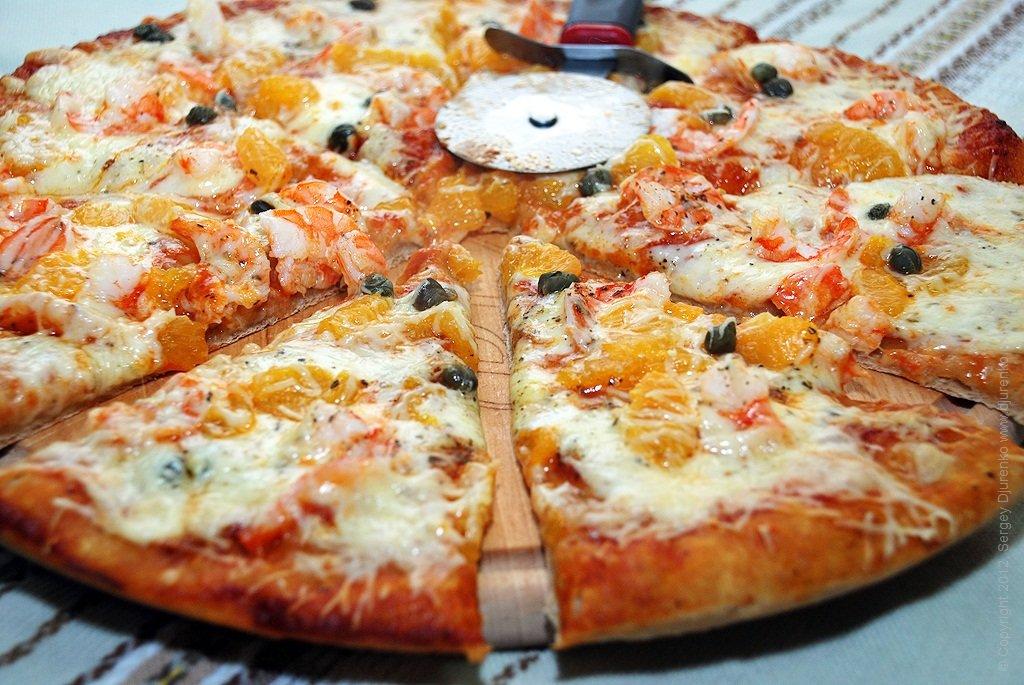 красиво оформленная пицца фото южные ворота оборудована