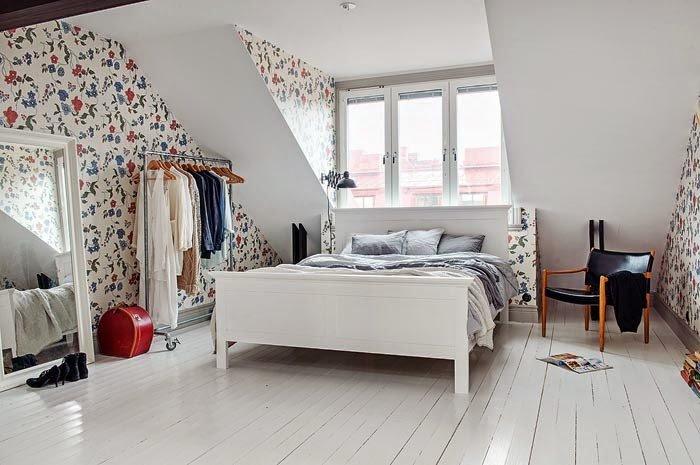 спальня в скандинавском стиле оформление мебель секреты интерьер