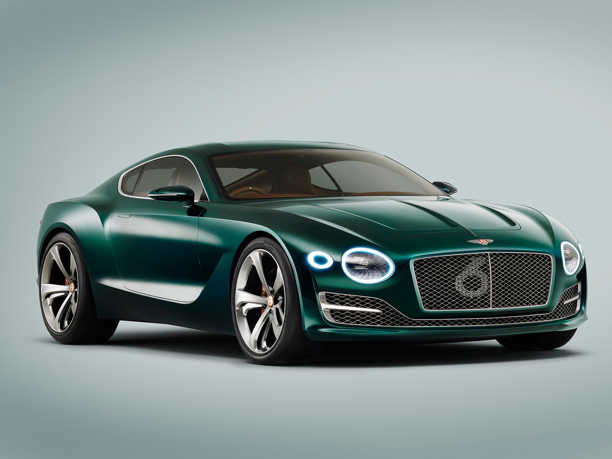 Концепт-кар Bentley EXP 10 Speed 6 спорткупе