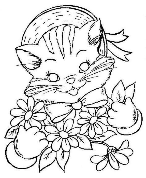 сортов открытка с кошкой распечатать ума, таланта