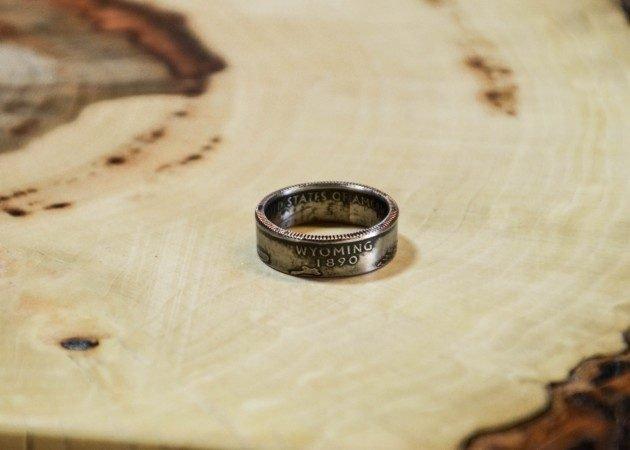 Как сделать кольцо из любой монеты