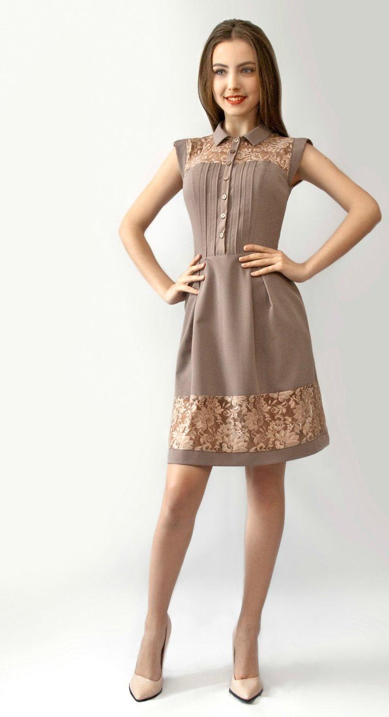 Кружевные вставки на платье своими руками 153