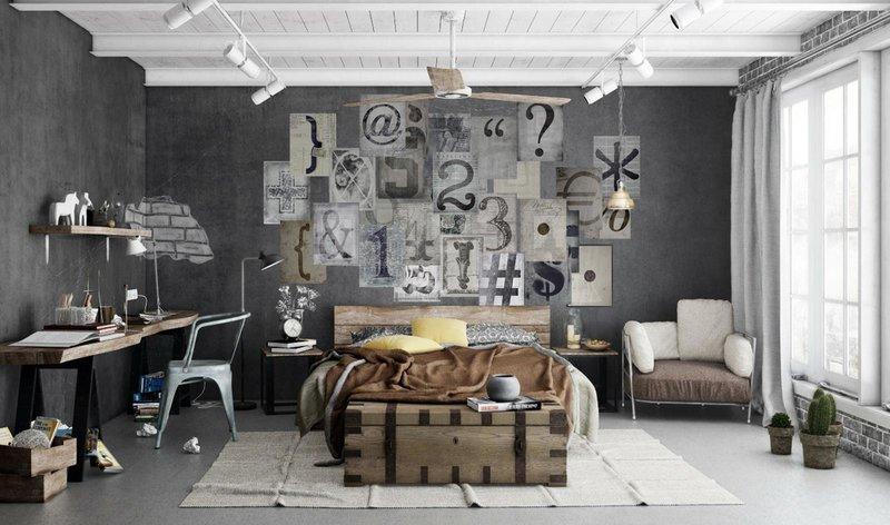 стены в стиле лофт: 19 тыс изображений найдено в Яндекс.Картинках