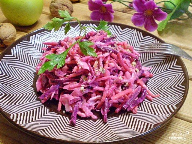 Салат здоровье рецепт с фото