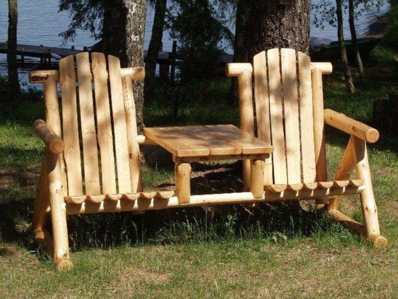 Кресло со столиком своими руками