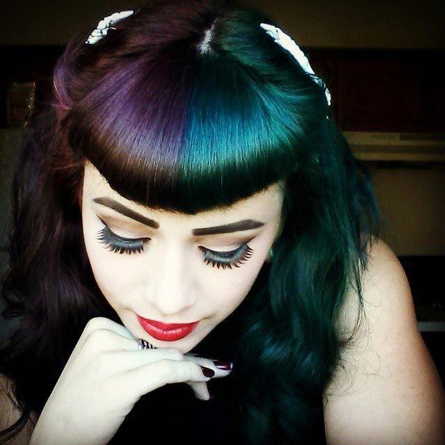 Картинки по запросу Яркие волосы