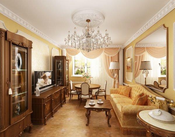 Красивые интерьеры дизайн гостиные