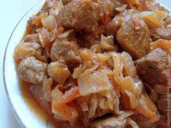 солянка из свежей капусты без мяса в мультиварке