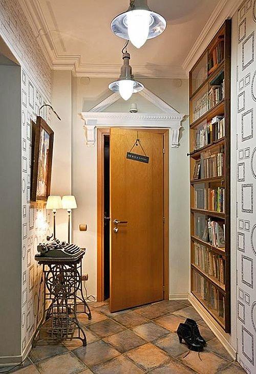 Как обустроить интерьер маленького коридора в квартире.