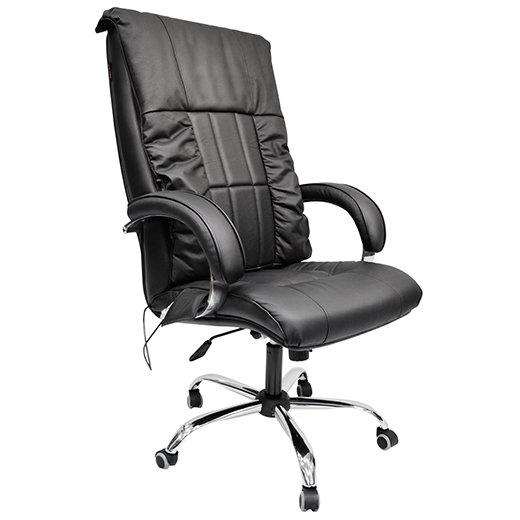 Офисное массажное кресло ЛИДЕР арпатек, цвет антрацит