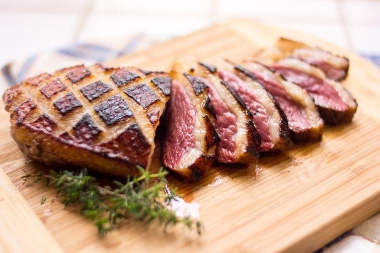 Делаем румяную корочку у мяса