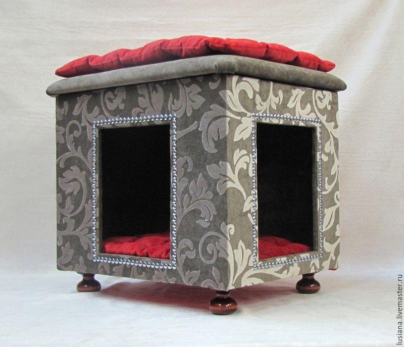 Пуфик и домик для собаки или кошки
