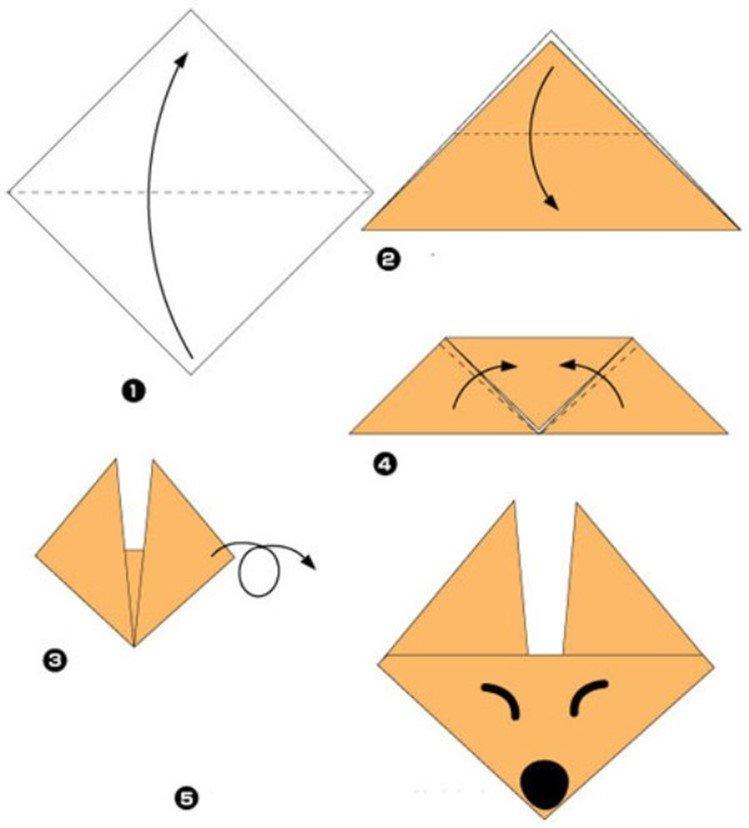 Оригами из бумаги картинки распечатать, днем студента открытка