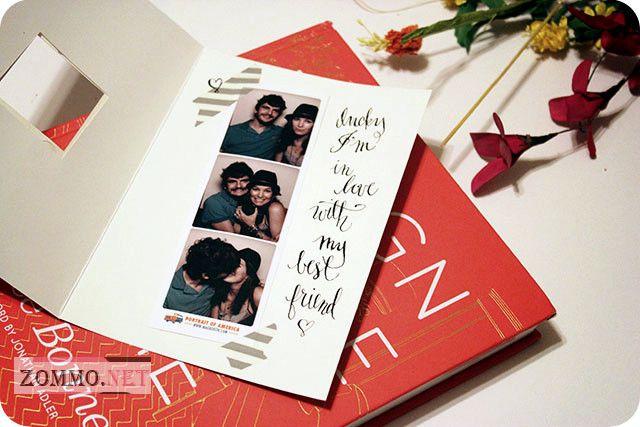 открытка своими руками с фотографиями