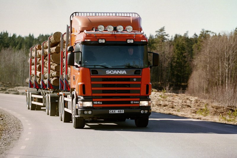Scania R164GB 580 6×4 Timber Truck