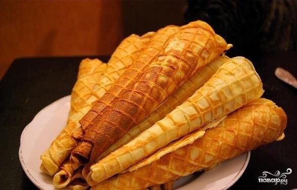Басков бенгальские вафли в вафельнице плечевого пояса