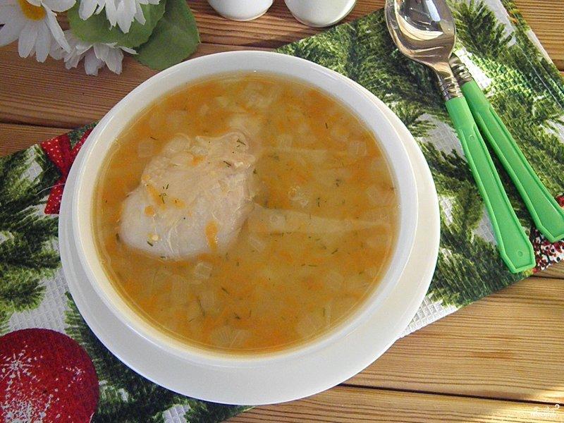 Суп гороховый окорочком рецепт фото