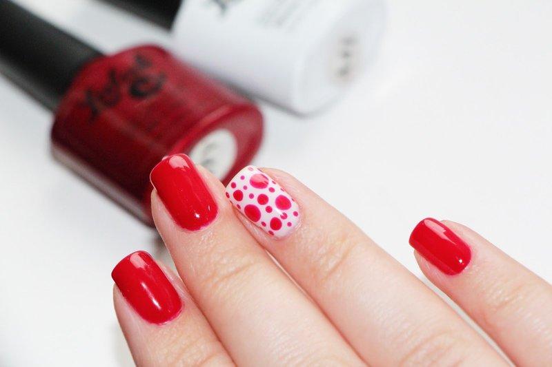 Ногти дизайн красные короткие