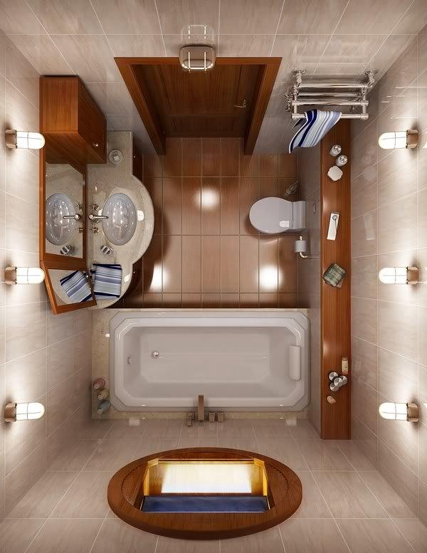 дизайн туалет ванна фото