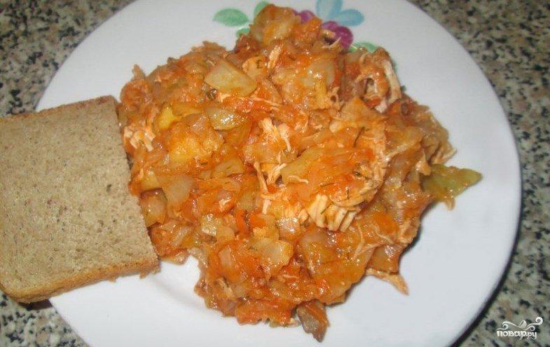 солянка с курицей рецепт с фото пошагово