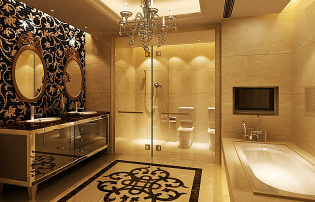 Ванная в стиле Ампир