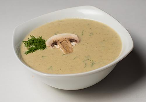 Суп пюре из шампиньонов с картофелем