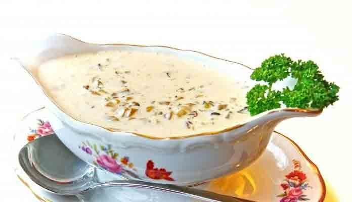 соус грибной со сметаной рецепт с фото