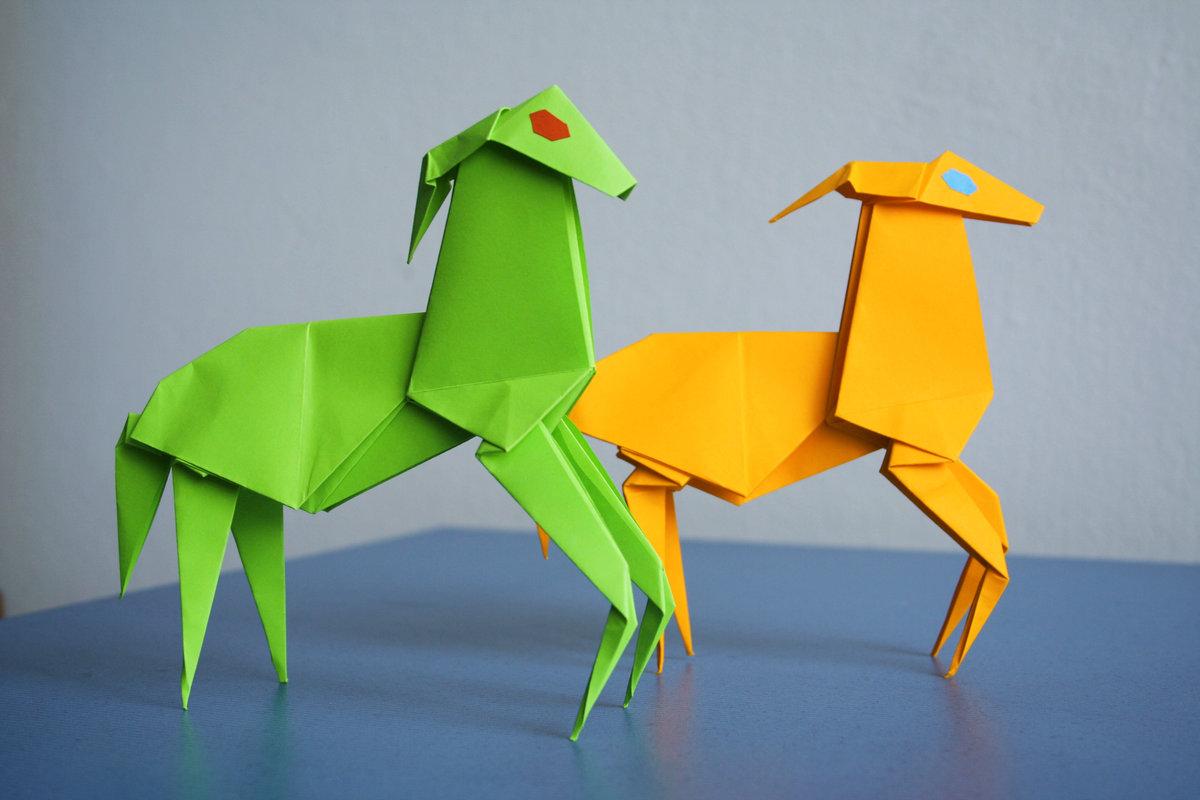 Оригами картинки из бумаги