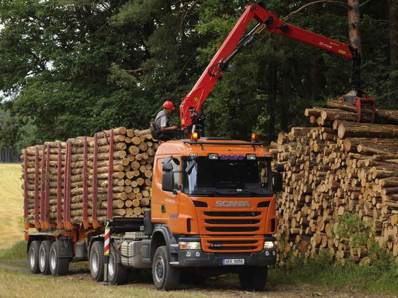 Scania G440 6x6 Timber Truck '2010