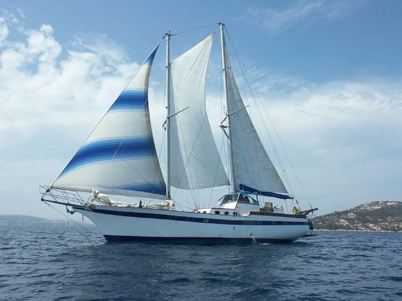 фото яхты с парусами небольшие чехол