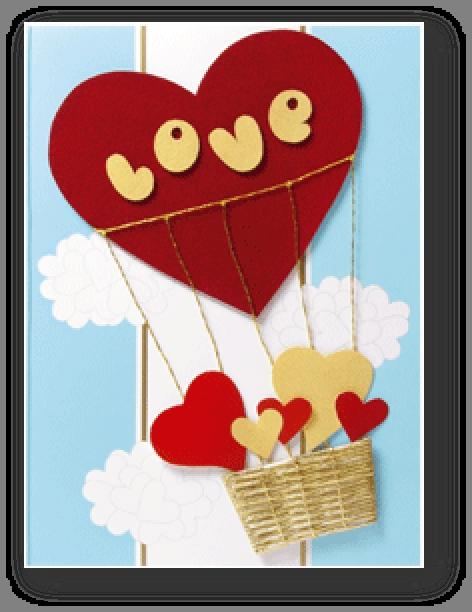 перерыли открытки на день святого валентина из картона так