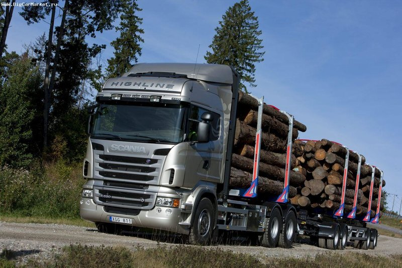 Scania R620 6x4 Highline Timber Truck '2009