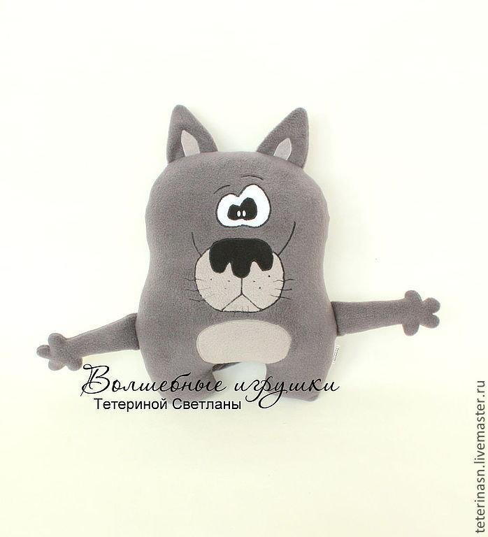 Подушка-игрушка Волк
