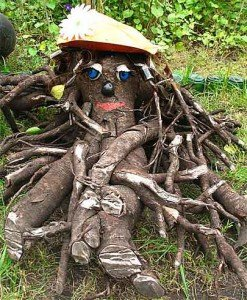 лесовики из пенька