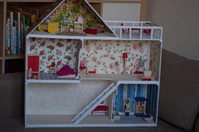 Детская кукольного домика своими руками 179