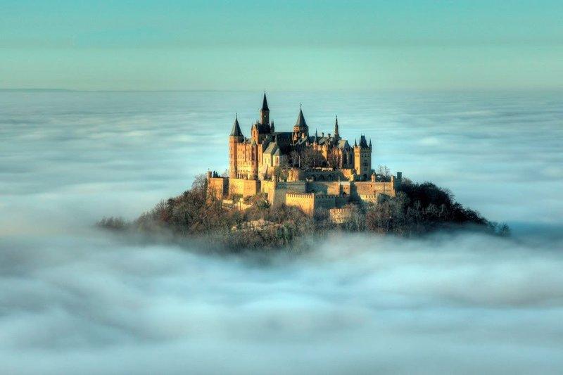 Замок Гогенцоллерн – один из красивейших замков Германии