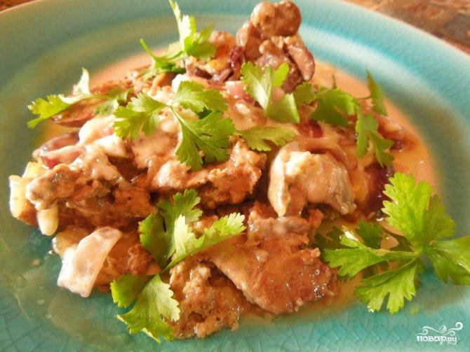 рецепты приготовления куриной печени с фото