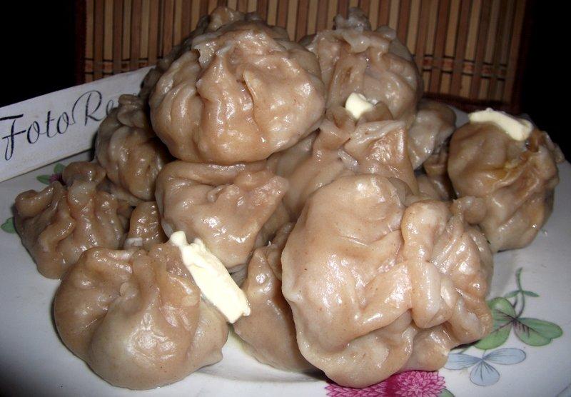 манты с картошкой рецепт с фото пошагово