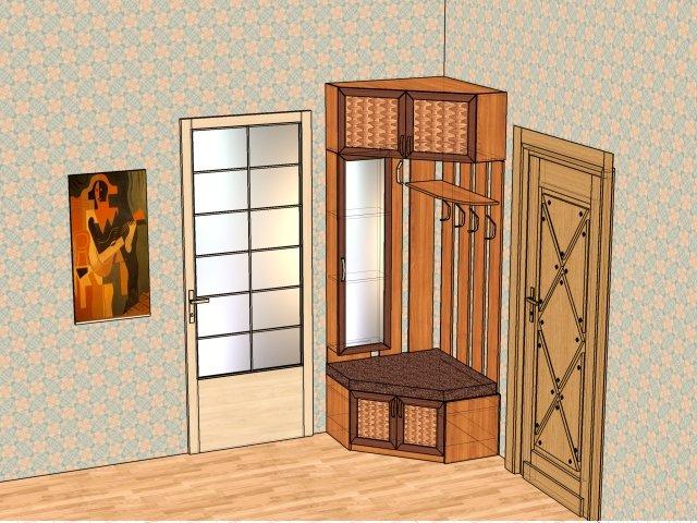 Дизайн угловой прихожей прихожая - гардеробы, решения для хр.