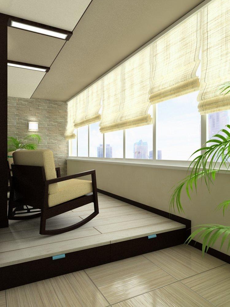 Квартира студия в стиле минимализм.светлый глянцевый пол и т.