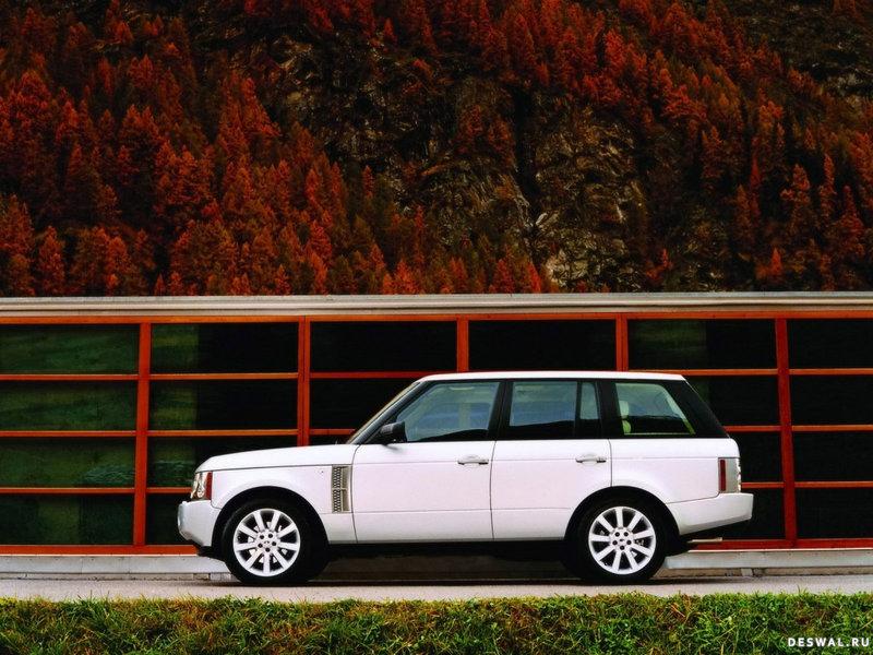 Land Rover красивый