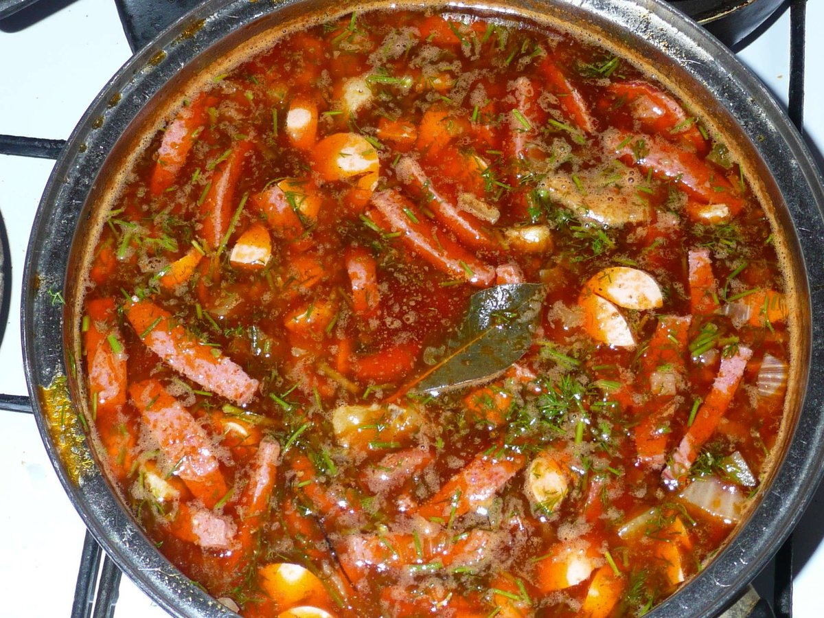 солянка рецепт без мяса с фото пошагово