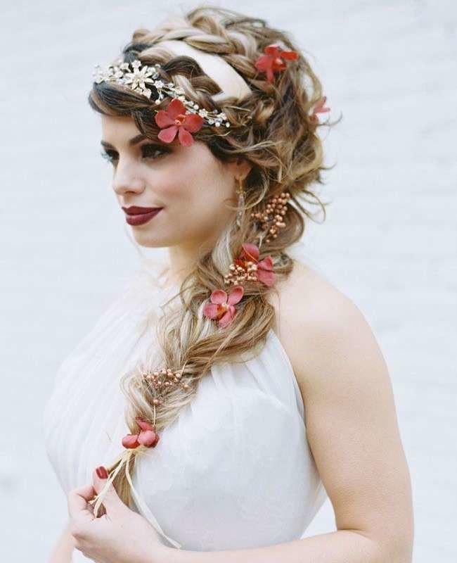 цветы в косе фото натереть