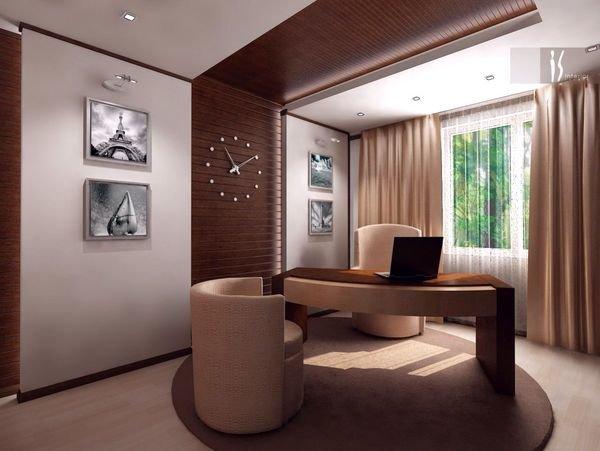 Если у Вас большая квартира или дом, и есть возможность создать большой кабинет, то его стоит оборудовать