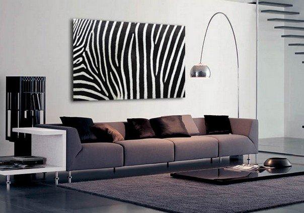 Принт зебра в интерьере . Давайте взглянем и почерпаем вдохновение!