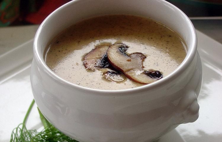 Вкусненький грибной супчик