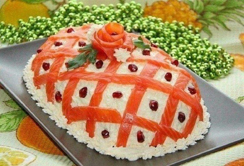 Салатики на праздники с фото