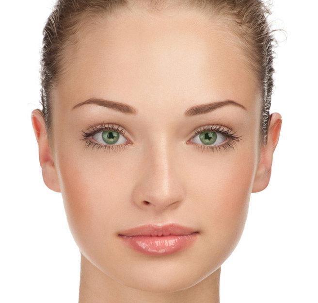Картинки женского лица без макияжа, февраля мужчине